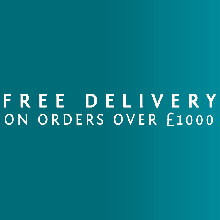 Free Delivery on orders over £1000
