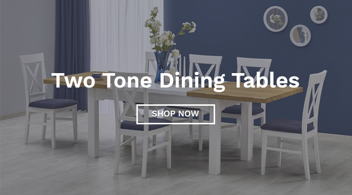 Two Tone Dining Tables