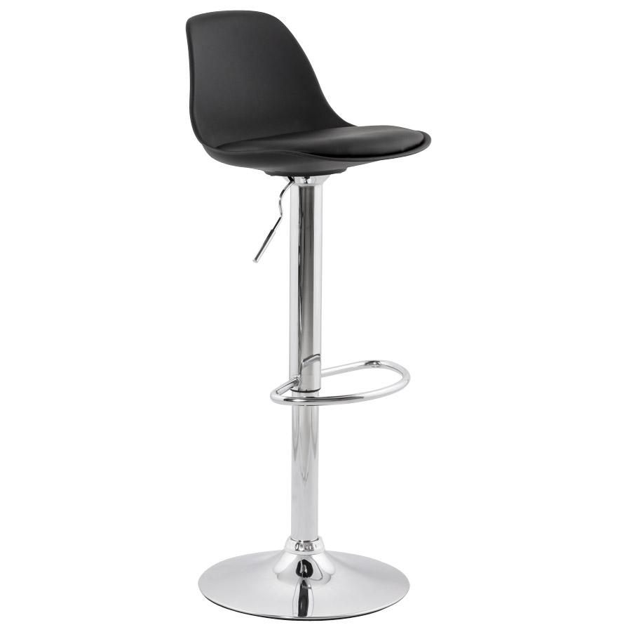 Allan Black Bar Stool
