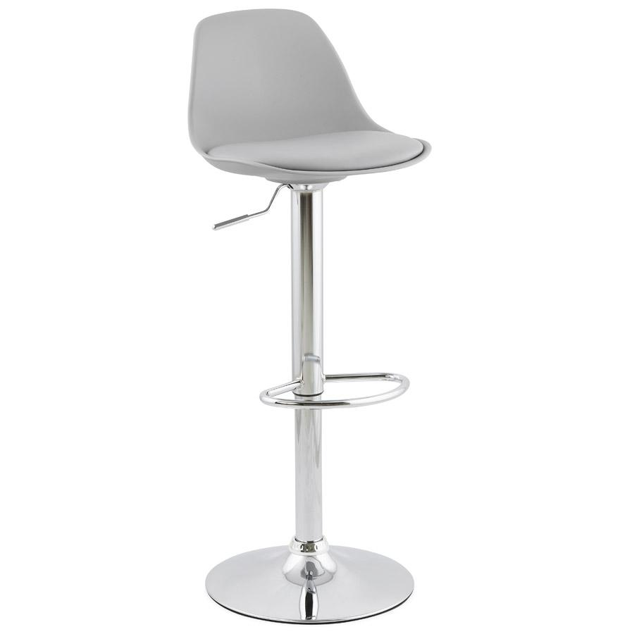 Allan Grey Bar Stool