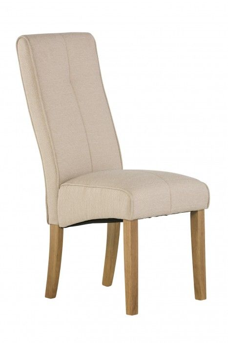 Demi Natural Fabric Dining Chair