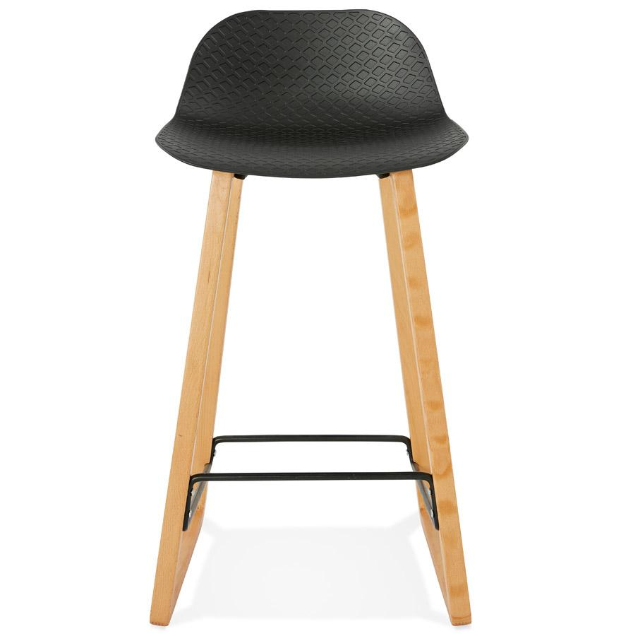 Geko Black Bar Stool