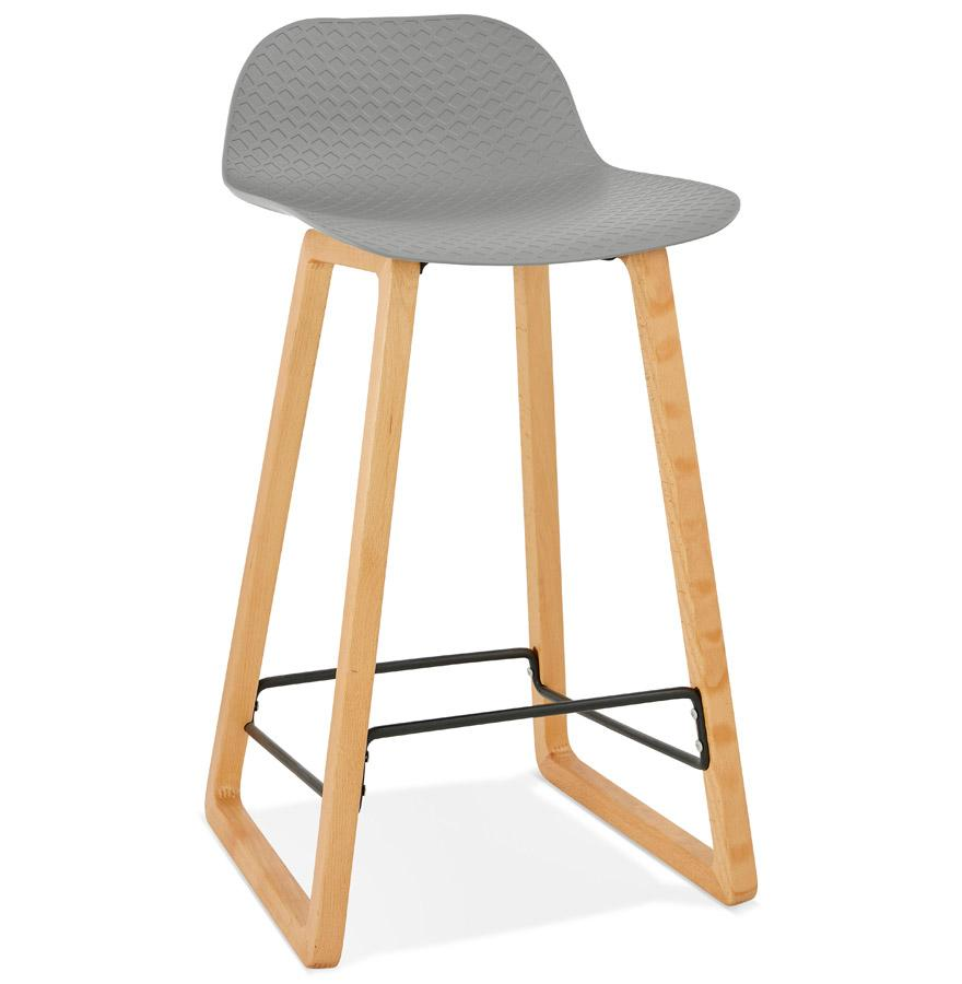 Geko Grey Bar Stool