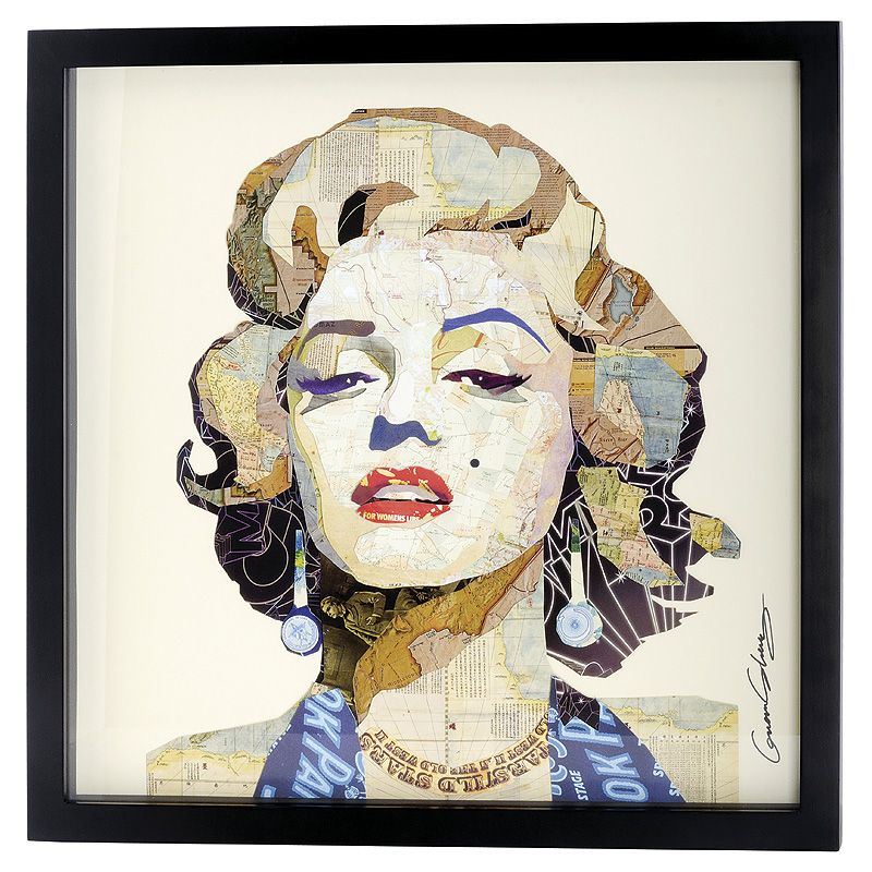 Marilyn Monroe Square Wall Contemporary Art