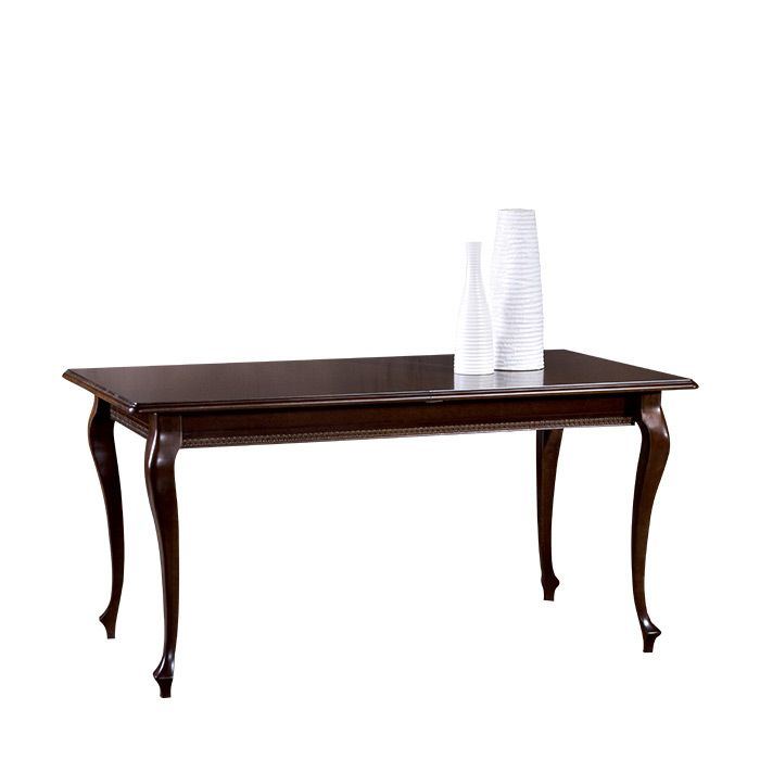 Vera 130cm-330cm Dark Brown Extending Dining Table
